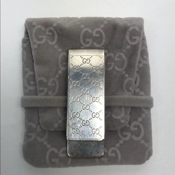 2e7d2cc1442f71 Gucci Accessories | Interlocking G Money Clip With Pouch | Poshmark